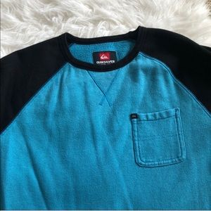 Quicksilver long sleeve crewneck sweater XL youth